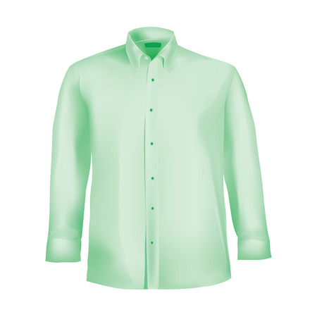 formal wear: Formal shirt with button down collar
