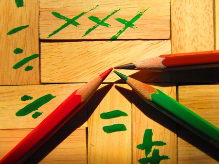 LEARNING TO DO SUMS IN COLOURFUL WAY photo