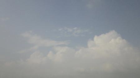 stupendous: white cloud