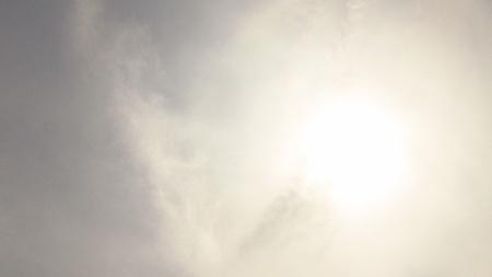 stupendous: Sun very bright