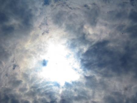 stupendous: FLASH OF SUN LIGHT-GLOW Stock Photo