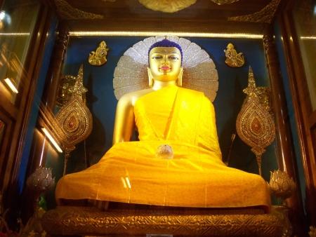 BUDDHA AT MAHABODHI TEMPLE Stock Photo - 14974202