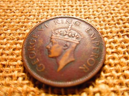 moksha: GEORGE KING EMPEROR COIN