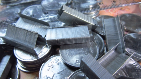 financial sector: COINS AND STATIONARY