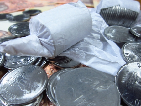 surplus: COINS IN PAPER