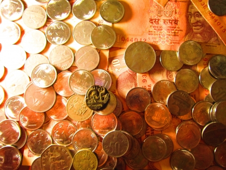 financial sector: COINS AND MONEY