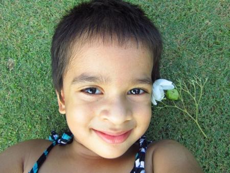 PORTRAIT OF A HAPPY KID photo