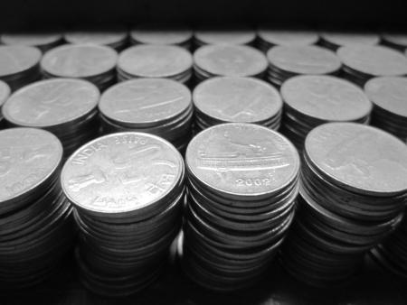 financial sector: COINS Stock Photo