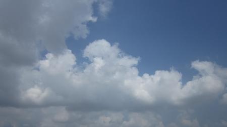 stupendous: cloudy sky Stock Photo