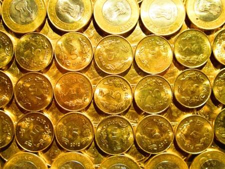 incertaininty: COINS Stock Photo