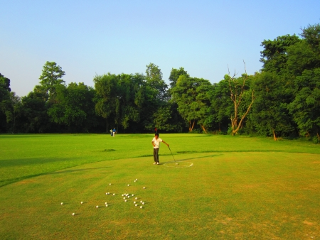 caddie: CADDIE PATNA GOLF ACADEMY. SHOT AT AFTERNOON HOURS ON 14.10.2012 AT  PATNA, BIHAR, INDIA