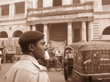 bihar: HOSPITAL FOR WOMAN AT ASHOK RAJPATH. SHOT AT MORNING HOURS ON 03 NOVEMBER 2012 AT  PATNA, BIHAR, INDIA