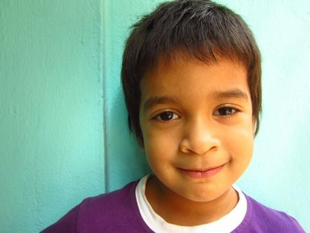 KID POSING BEUTIFULLY Stock Photo - 16457592