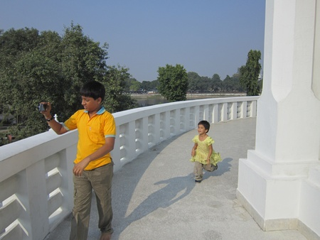 chased: BOY PHOTOGRAPHING AND CHASED BY A GIRL