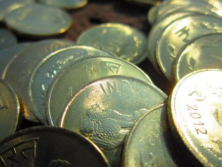 drawback: COINS CLOSE UP