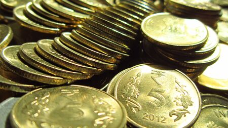 drawback: COINS Stock Photo