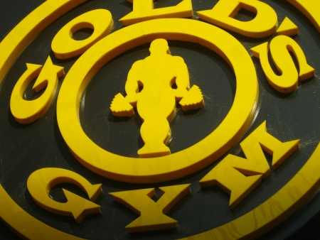 GOLDS GYM. SHOT AT AFTERNOON HOURS ON APRIL 06, 2013 IN PATNA, INDIA.