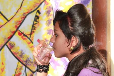 enact: Artist enact drama on afternoon of March 21, 2014 at Gandhi Maidan, Patna, India