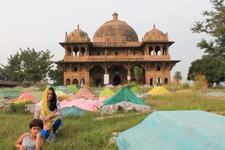 bihar: Travel Maner, Patna. Shot at Afternoon hours at Maner, Bihar on15 November 2014. Editorial