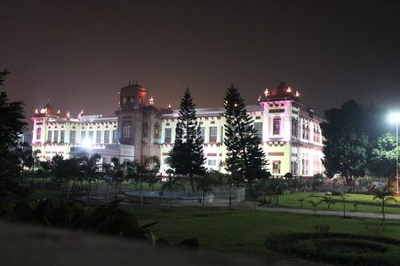 bihar: Patna Museum, Shot at evening hours on 13.11.14 at Patna, Bihar. Editorial