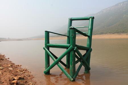 bihar: Lake- Ghorakatora, Bihar, India.