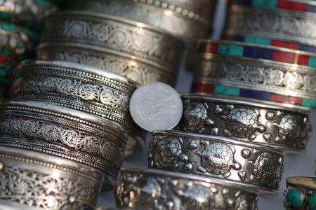 elasticidad: Indian dinero-art Foto de archivo