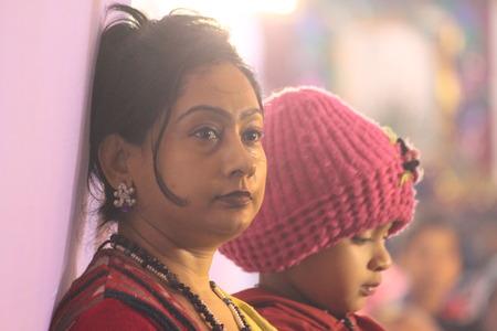 An evening at Litera Valley School. Travel Patna series. Shot at evening hours at Patna, India on 17.01.15. Zdjęcie Seryjne - 35879739