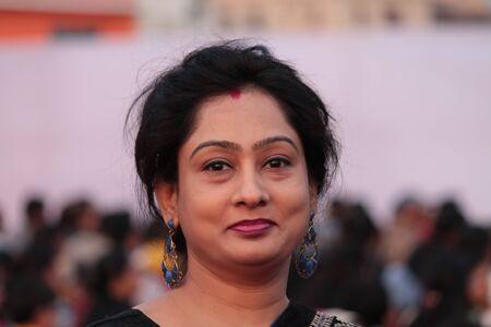 Indian woman Zdjęcie Seryjne