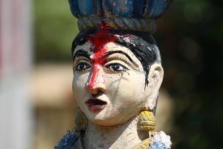deity: Hindi deity. Stock Photo