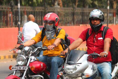 safe driving: Safe driving. Street photo, Shot at Gandhi Maidan, Patna, Bihar, India on 20.02.15 at afternoon hours.