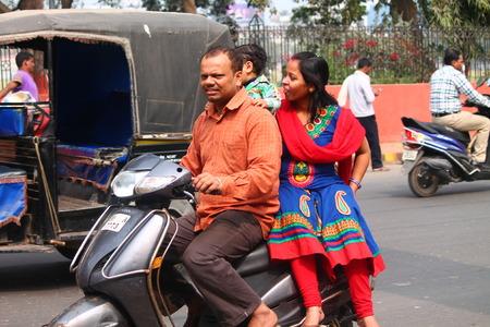 unsafe: Unsafe driving. Street photo, Shot at Gandhi Maidan, Patna, Bihar, India on 20.02.15 at afternoon hours.