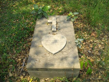 Pirmuhani- Christian Burial Ground. Stock Photo