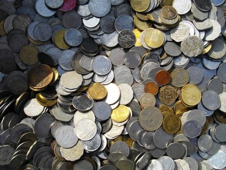 marginal: Coins. Stock Photo