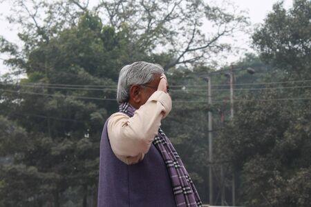 Shri Nitish Kumar, Chief Minister, Bihar during the 115th birth anniversary of Netaji Subhas Chandra Bose. Shot at South Gandhi Maidan, Patna, Bihar, India, Morning, 23rd January 2014.