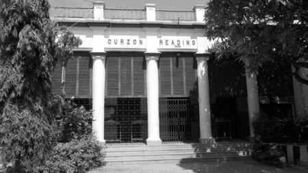 holiday stress: Khuda baksh museum, Travel Patna. Shot at Patna, Bihar, India on 18.07.15 at morning hours.