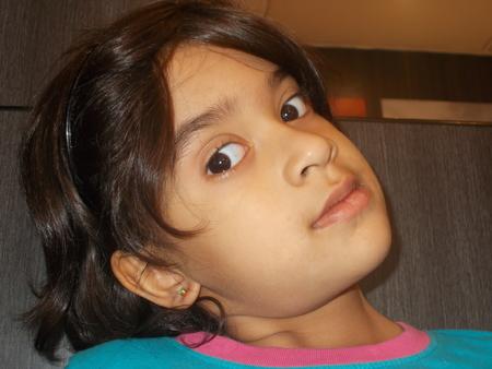 spunky: Indian girl.
