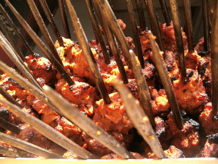kabab: Beef kabab.