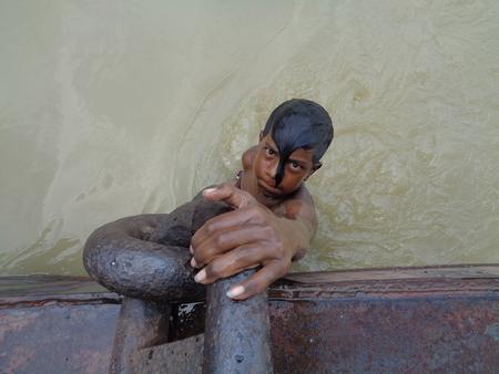 kolkata: Travel Kolkata Ganges. Shot at afternoon on 14.08.16 at Kolkata, India.