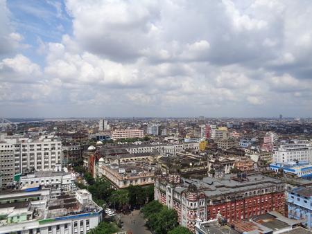 kolkata: Kolkata skyline. Shot afternoon on 26.08.16 at Kolkata.