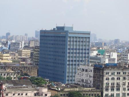 kolkata: Kolkata skyline. GPO Kolkata, Shot morning, Kolkata, 03.10.16.