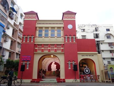 kolkata: Vinayak Puja pandal. Shot at afternoon, 11-10-16 at  Kolkata.