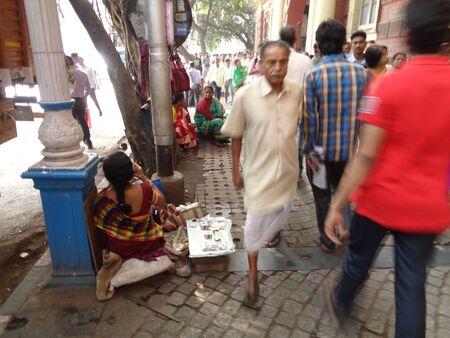 kolkata: Kolkata people for change of 500 & 1000 note as same became defunct as per Indian Government order.  Shot on afternoon of November 2016 at RBI Kolkata, India.