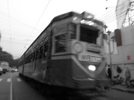 kolkata: Kolkata tram. Nov 16 at evening kolkata.