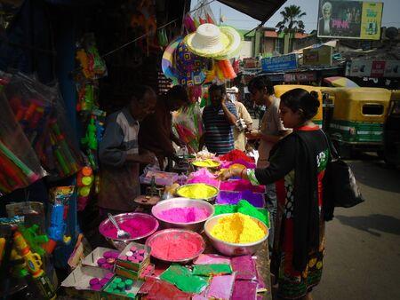 Holi, Kolkata. Shot afternoon on 11.03.17 at Kolkata, India.