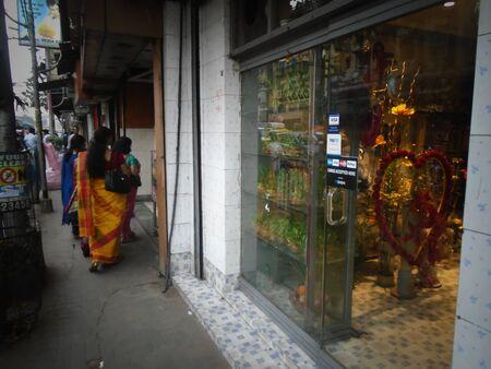 Kolkata street, Holi, Kolkata. Shot afternoon on 11.03.17 at Kolkata, India.