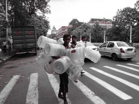 Water crisis Kolkata, Afternoon, March 2017.