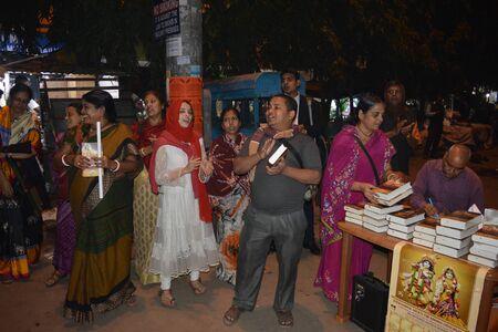 ISKCON. Kolkata, India. 12th December 2017. Evening. Social Kolkata.