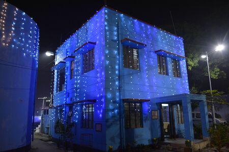 Kolkata, India. 23rd December 2017. Christmas at City of Joy. St. James' Church (Estt 1906), Baranagar, 13 Kashi Nath Dutta Road, Kolkata -36 getting ready for Christmas. Publikacyjne
