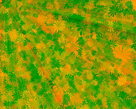 Abstract leaves background, seasons theme photo