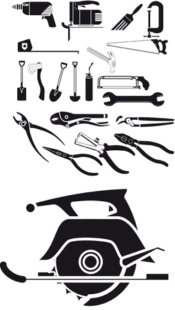 Collection of tool vector  Vector